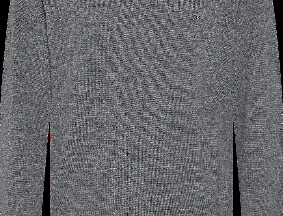Calvin Klein Rundhalset strik Superior Wool Grey