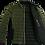 Thumbnail: Calvin Klein Foret Jakke Letvægts Side Logo Oliven Green