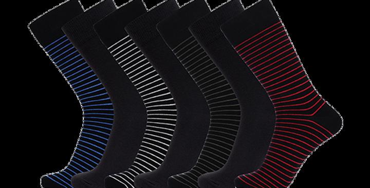 Bambus Strømper JBS, 7-pak Multifarvet