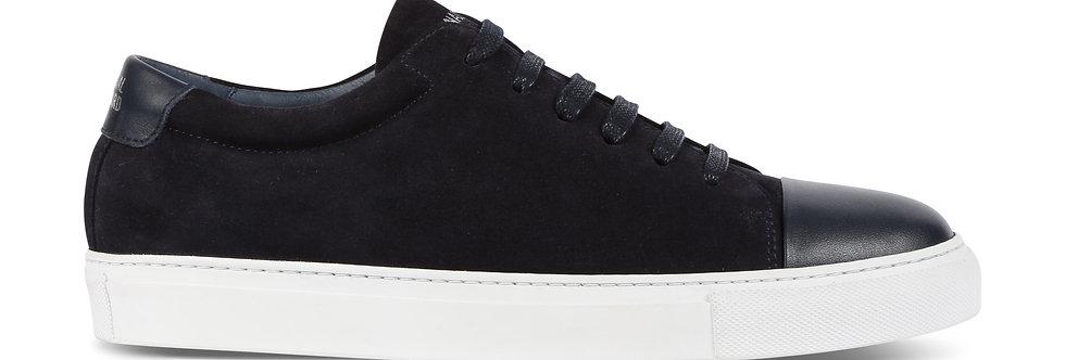Navy Suede Sneaker - National Standard