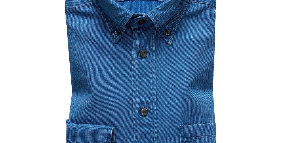 Slim skjorte - ETON - Denim