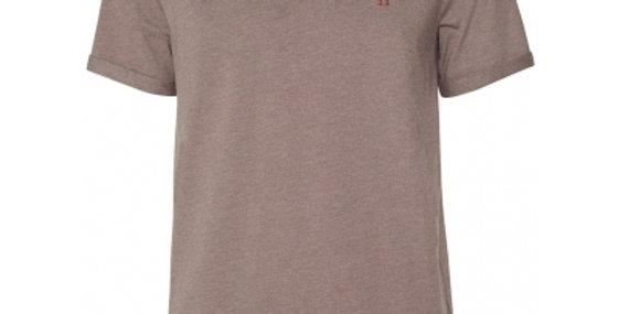 Les Deux Nørregaard T-shirt Brown Melange