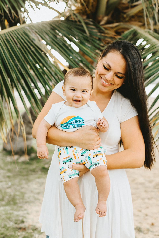 Smiley Hawaii Baby