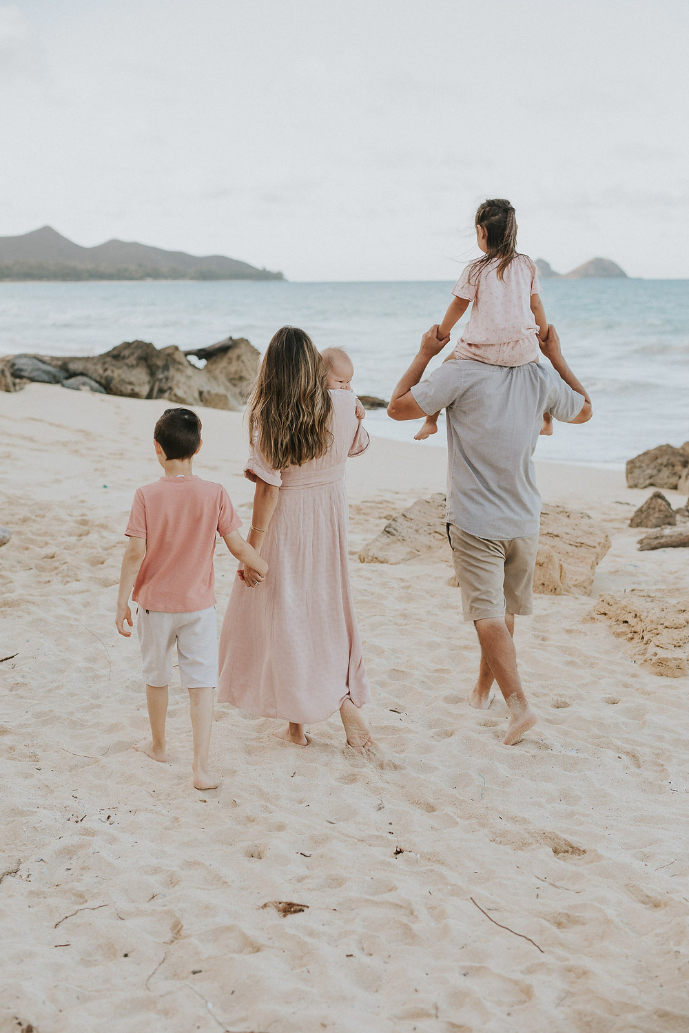 Sunset Family Session Bellows