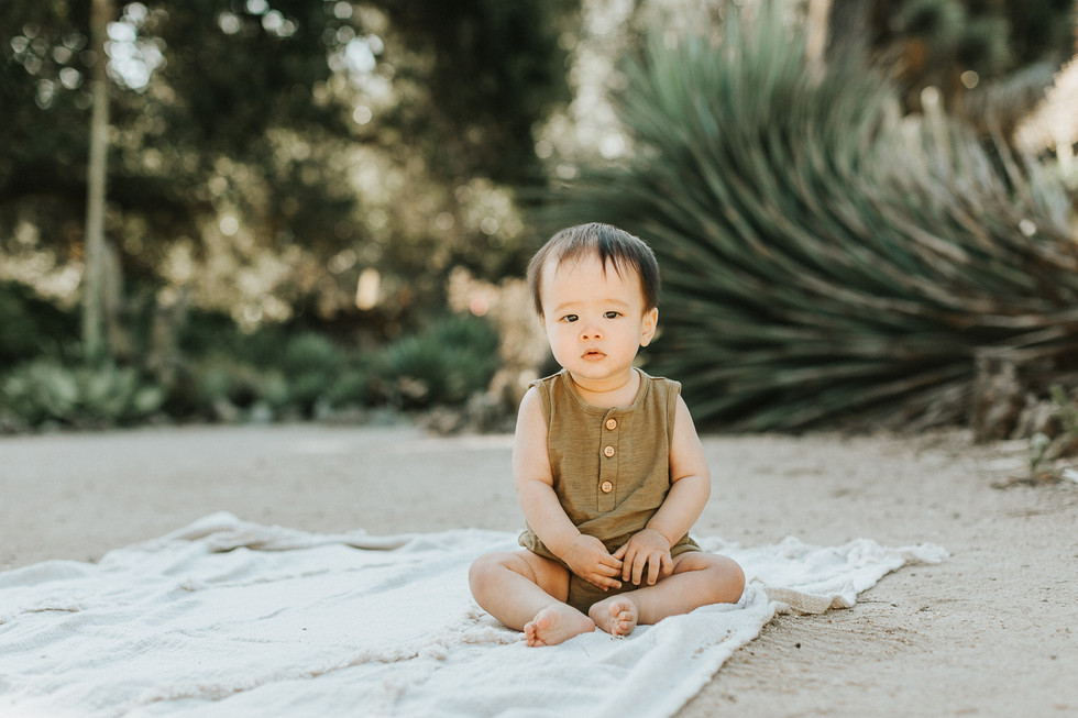 Documenting Baby's First Year of Life | Lifestyle Family Photographer | Palo Alto, CA