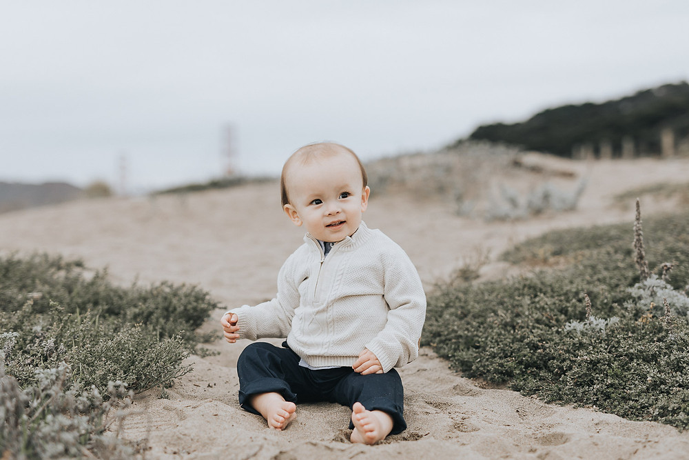 First Birthday Photographer San Francisco
