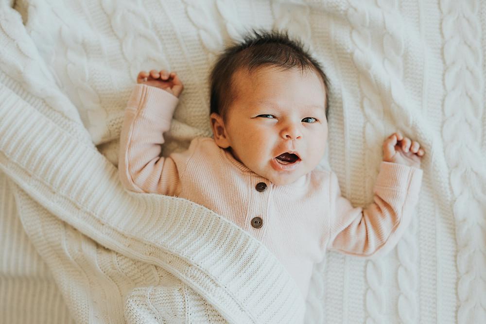 Baby Led Newborn Portraits San Francisco