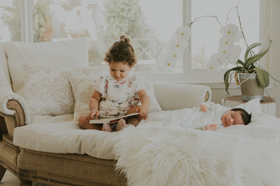 My timeline for in-home newborn sessions