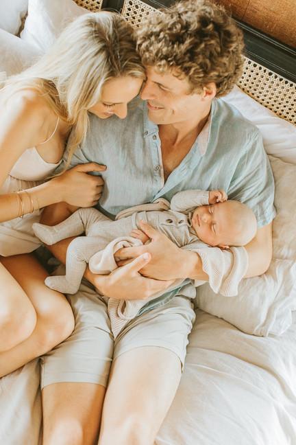 Oahu In Home Newborn Photographer