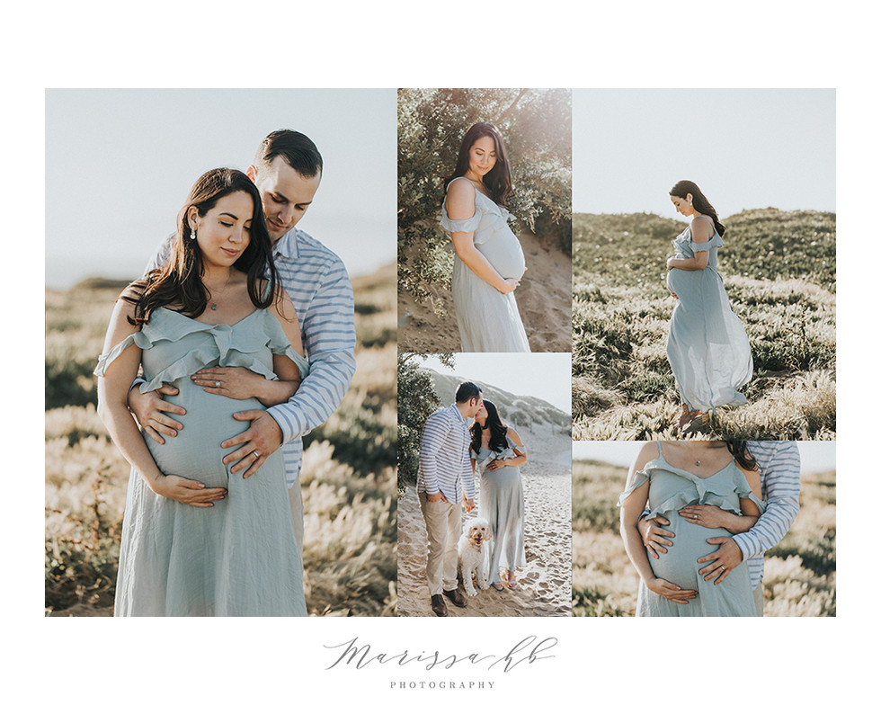 Maternity session in San Francisco | San Francisco Maternity Photographer | Marissa HB Photography