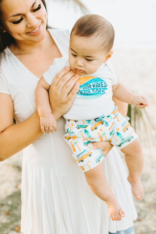 Baby Photographer Hawaii Commercial Photoshoot