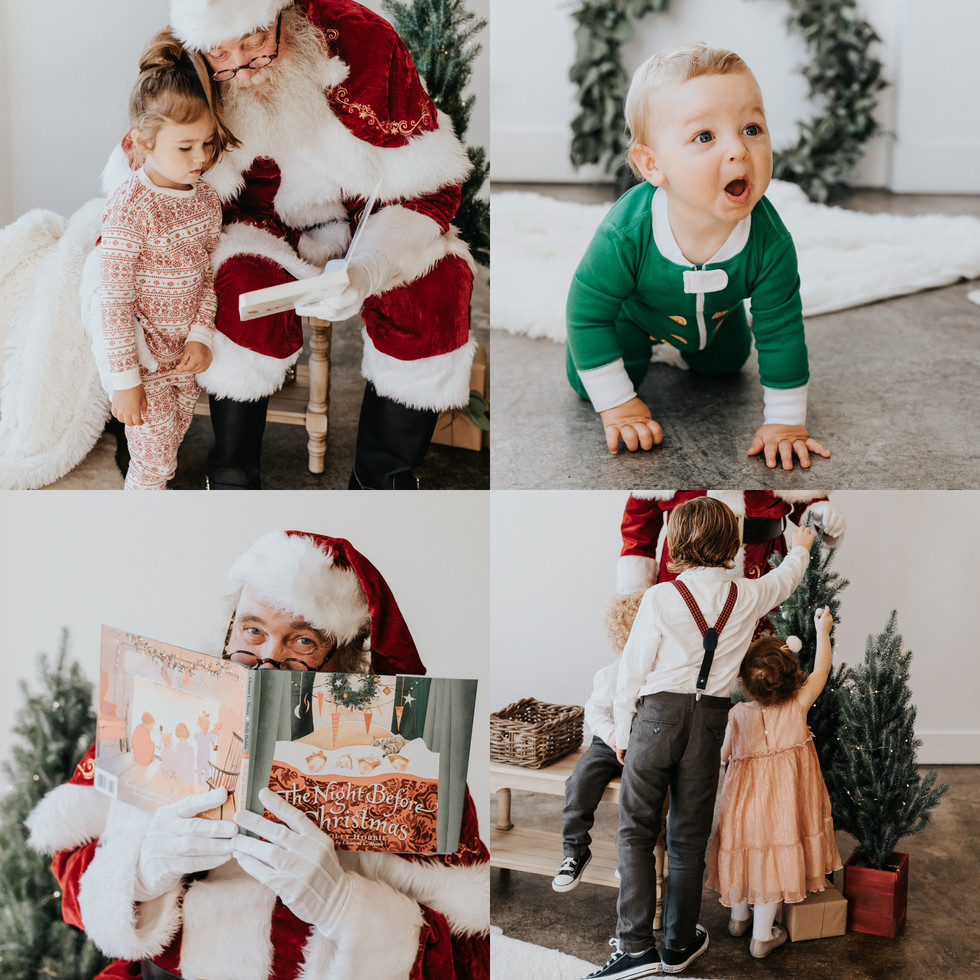 Santa Mini Sessions in San Francisco | San Francisco Child Photographer | Marissa HB Photography