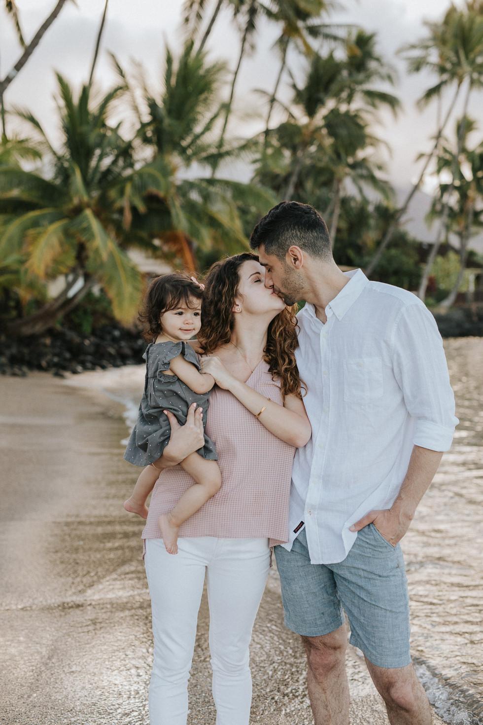 Maui Family Session in Lahaina | Marissa HB Photography