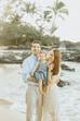 Maui Family Photographer | Sunrise Family Photo Session at Makena Cove | Marissa HB Photography - HI