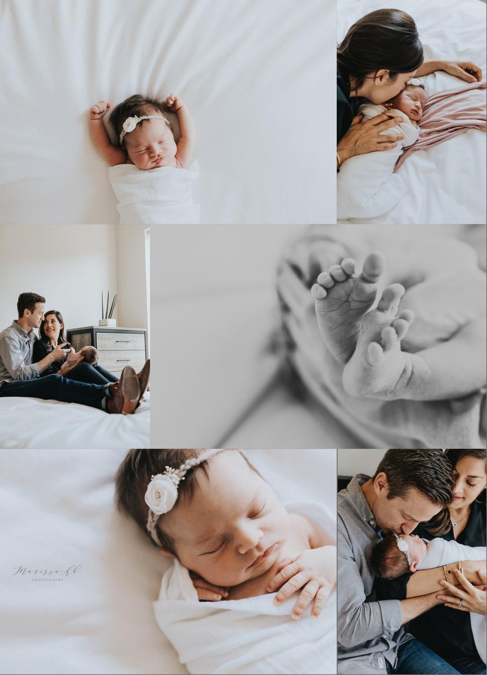 San Francisco Lifestyle Newborn Session | Marissa HB Photography