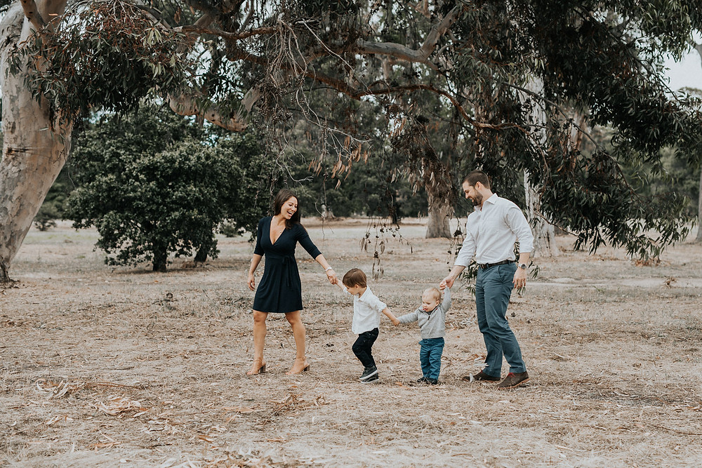 Palo Alto Fall Family Photographer