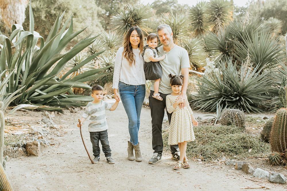 Family of 5 fall mini session