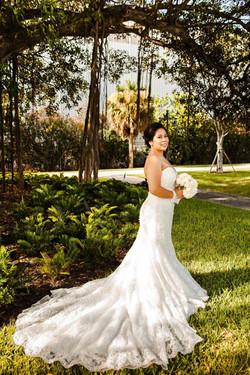 Wedding Dress Train Alteration