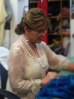 Olga Salazar, Elegant Lady Dressmaker