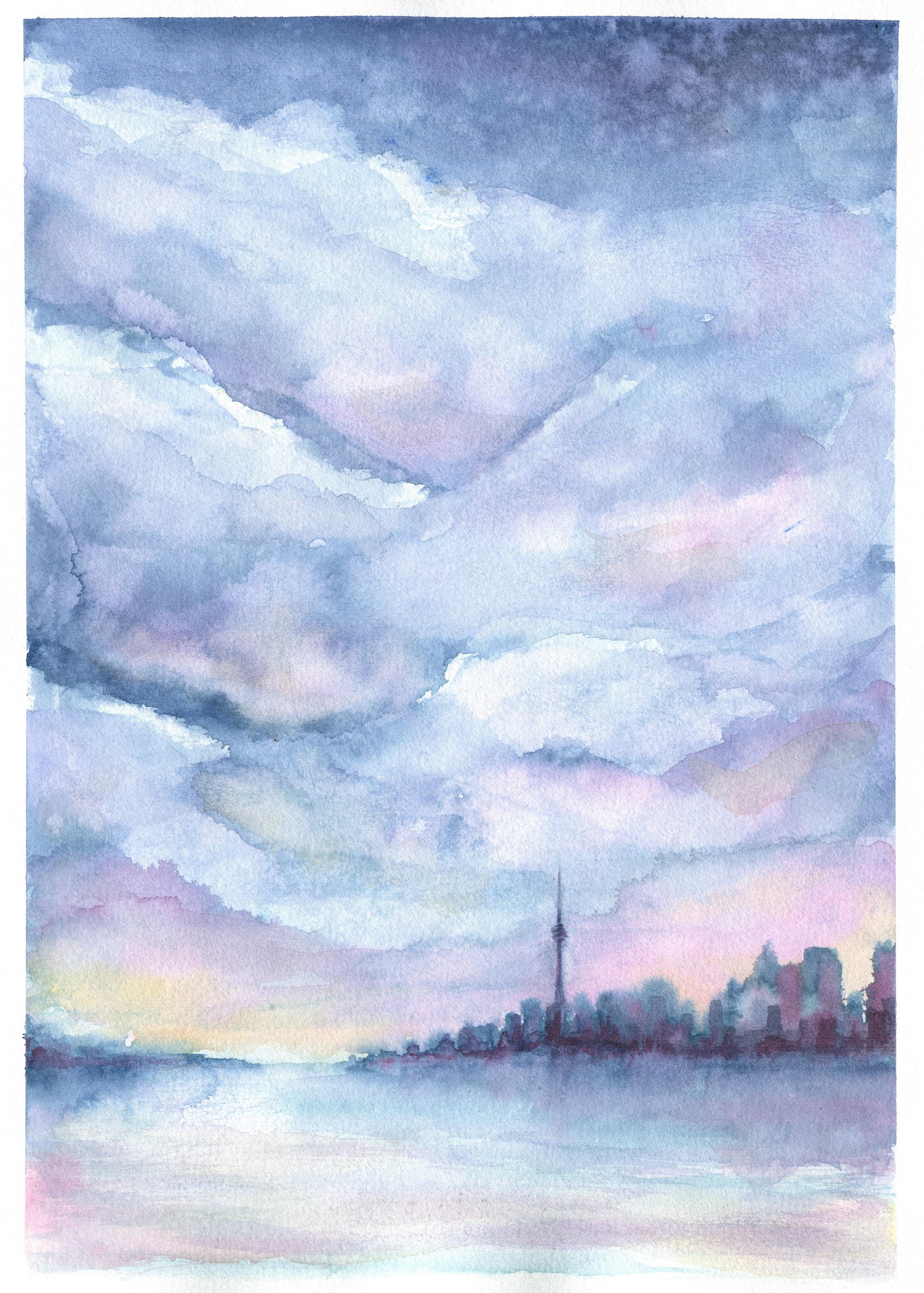 Toronto Pastel