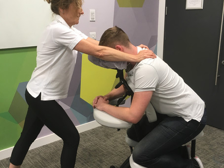 Massage in the workplace - why do you need it?