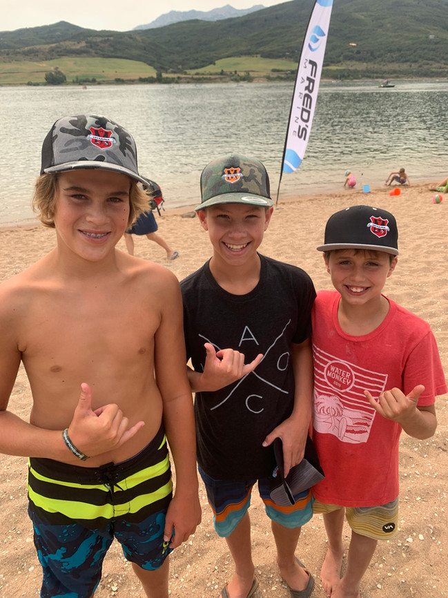 grom squad hat party
