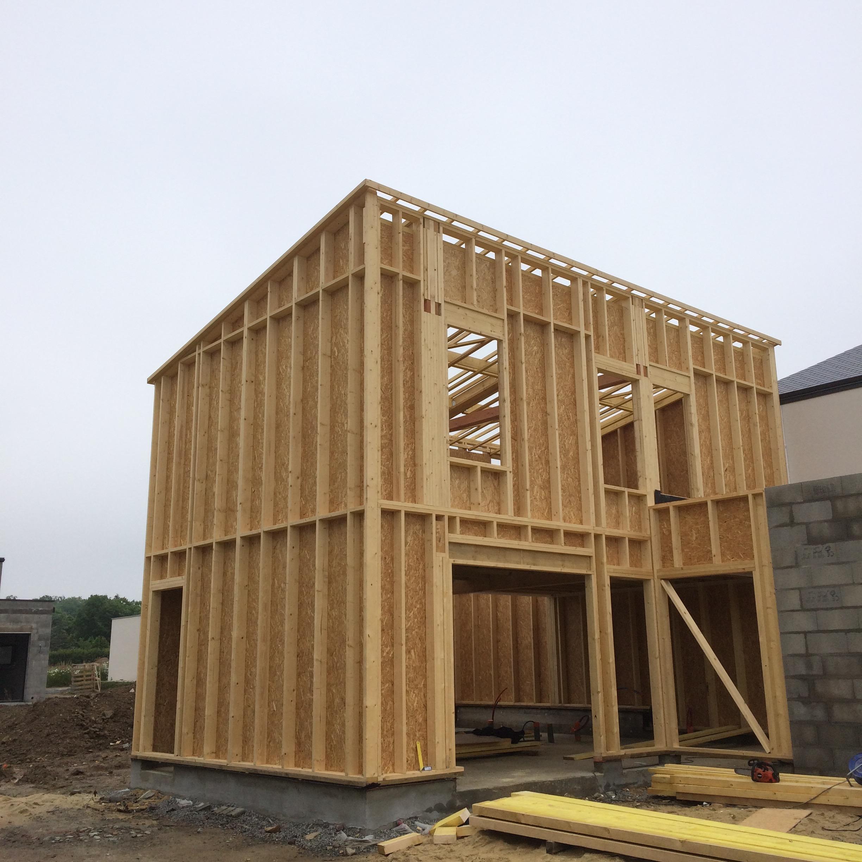Maison bois Bruz