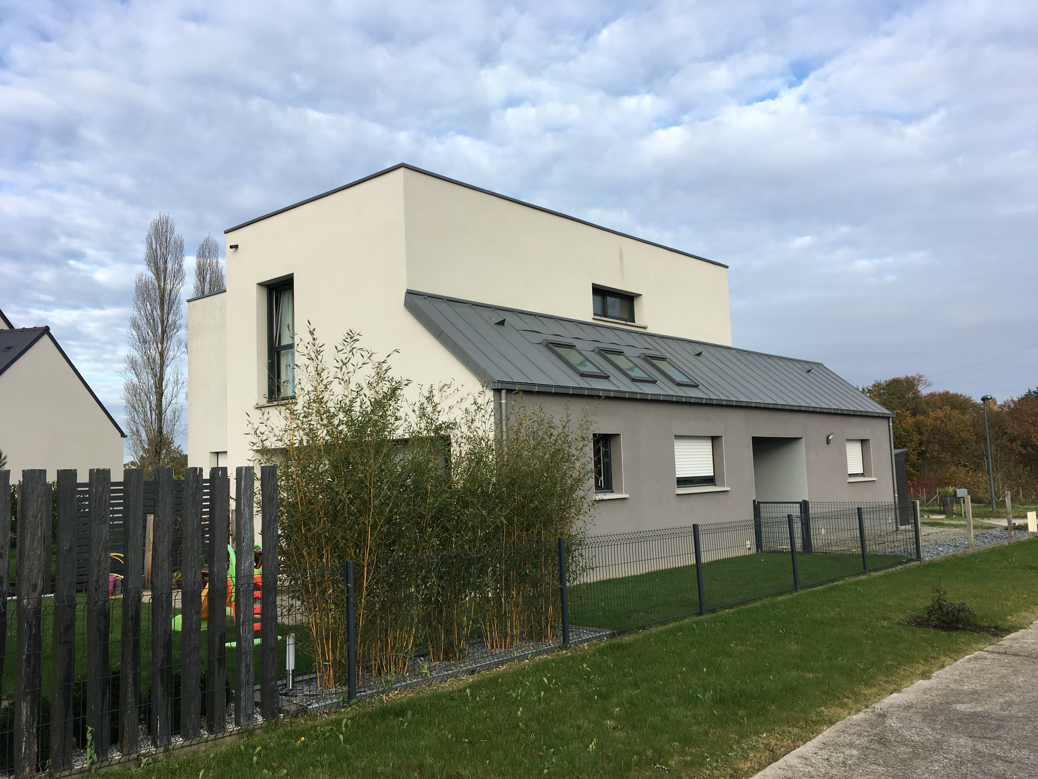 Maison Chateaubourg démangé Architec