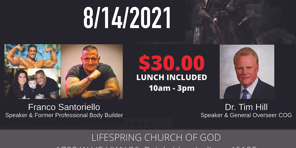 Waking Up the Warrior - Men's Conference