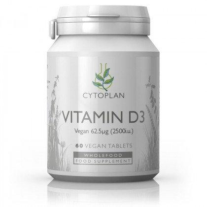 High Potency Vegan Vitamin D3 (Wholefood)