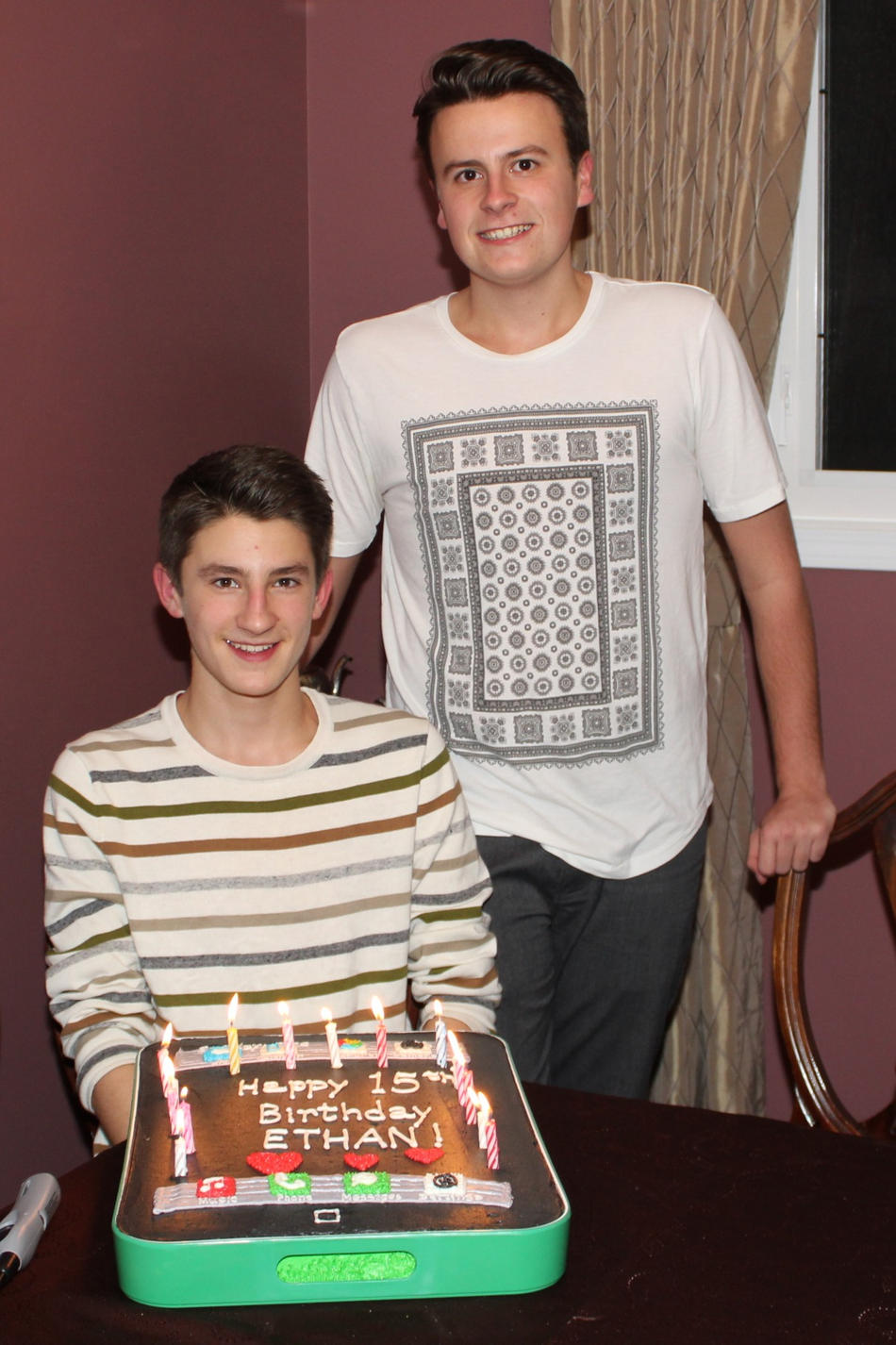 2013 Ethan turns 15