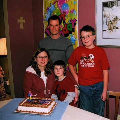 2005 Ethan turns 7