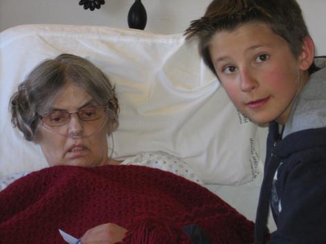 2009 018 Ethan, Grandma Karen Ann Harvey