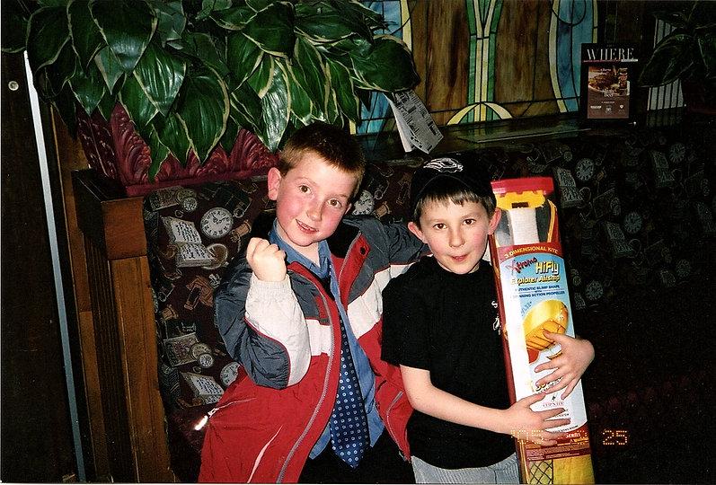 2005-03-25 Colton Carr & Ethan Jansen -
