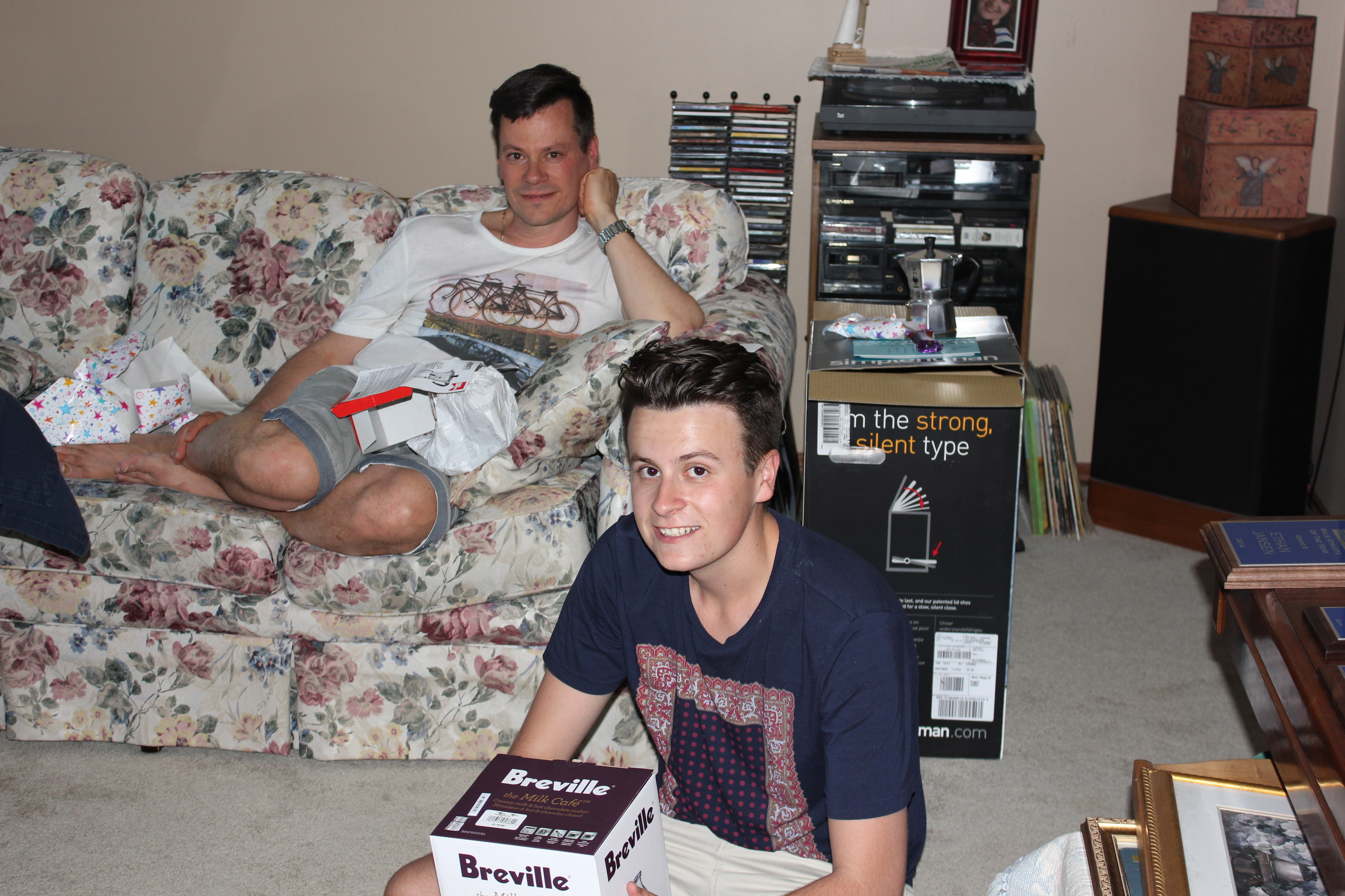 Father's Day 2014 Brad & Luke