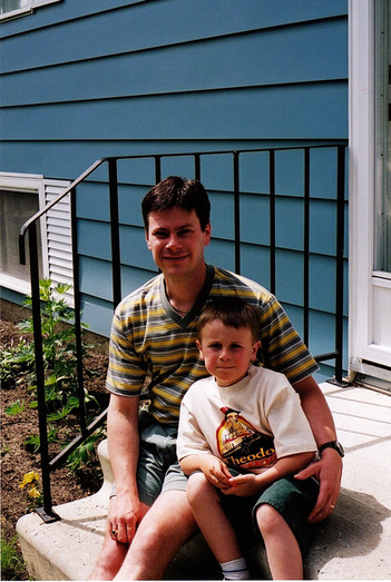 Father's Day 2000 Luke and his Dad