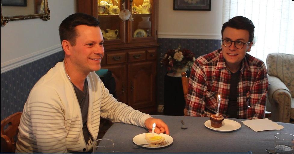 2017 Video screen shot of Luke and Brad_