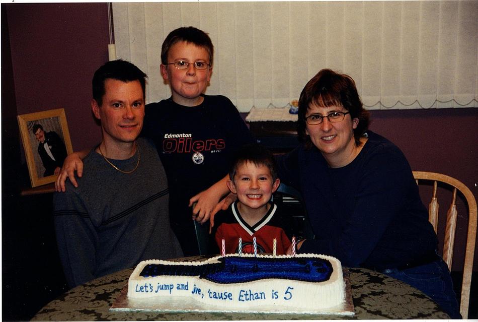 2003 Ethan turns 5
