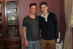 Ethan & Brad Father's Day 2014