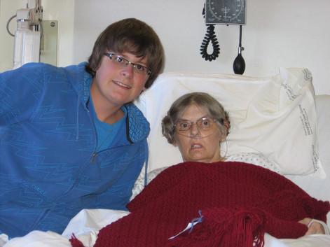 April 11, 2009 Luke Jansen, Grandma Karen Ann