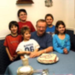 3 Stu Jansen 66th Birthday 2006 with all