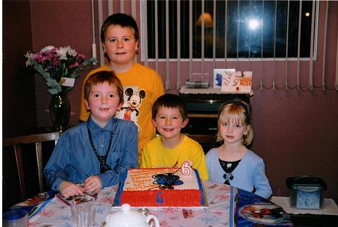 2004 Ethan turns 6