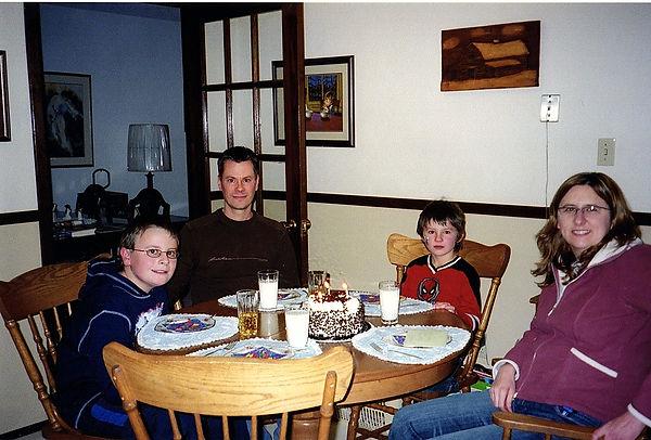 Z'Anne Birthday 39 with family celebrati