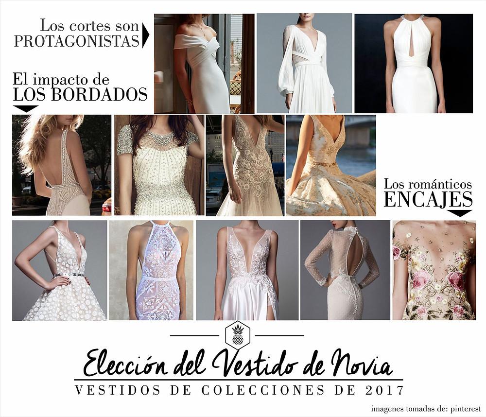 Bodas - Vestidos de novia 2017