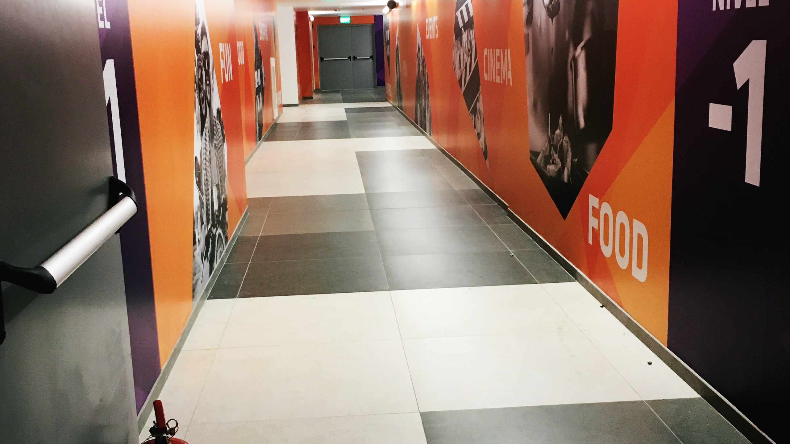 Zona lifturilor