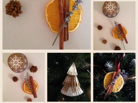 DIY: Ornamente de Craciun