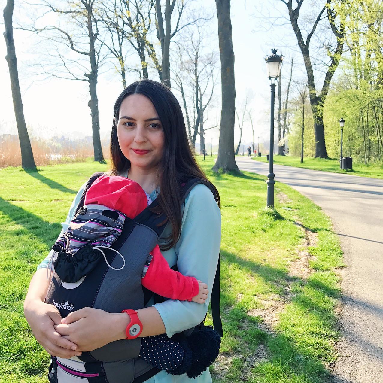sistem de purtare bebelusi