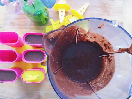 Înghețată cu ciocolată, fără zahăr, făcută în casă (rețeta mea)