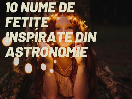 10 nume de fetițe inspirate din astronomie
