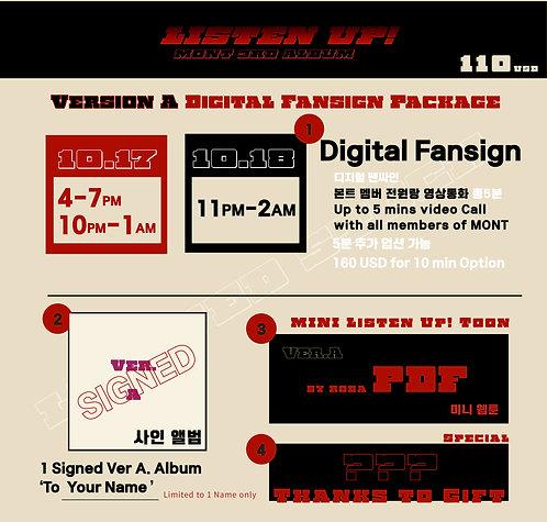 Version A Digital Fansign Package